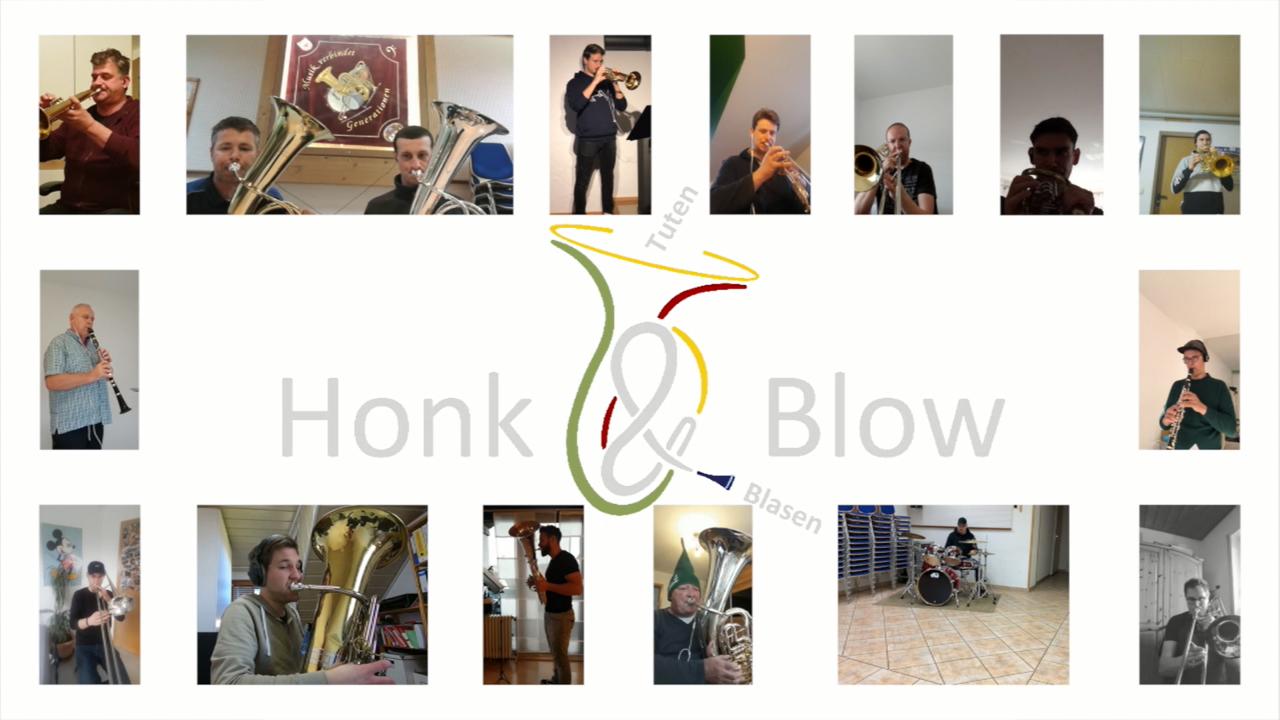 #WirBleibenZuHause – Honk&Blow live aus der Quarantäne